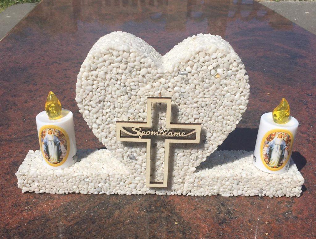 dekorácia na hroby