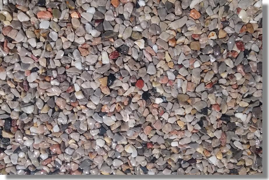 kamenný koberec harlekýn
