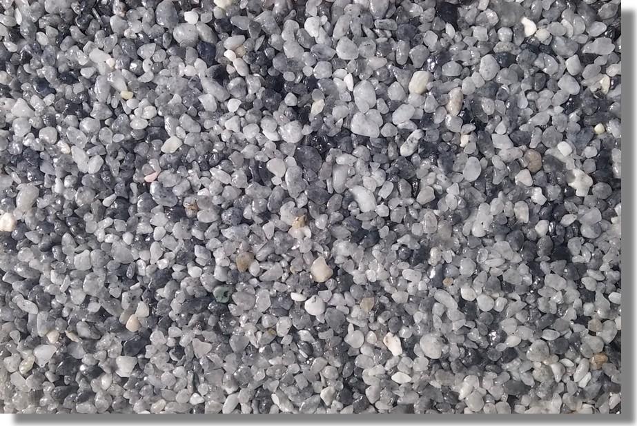 kamenný koberec modrý turquin