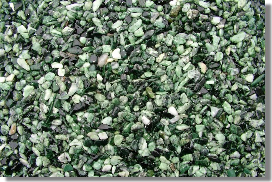 kamenný koberec zelený
